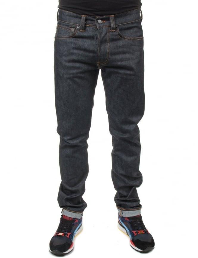Edwin Jeans ED-80 Slim Taper CS Selvedge Denim - Unwashed