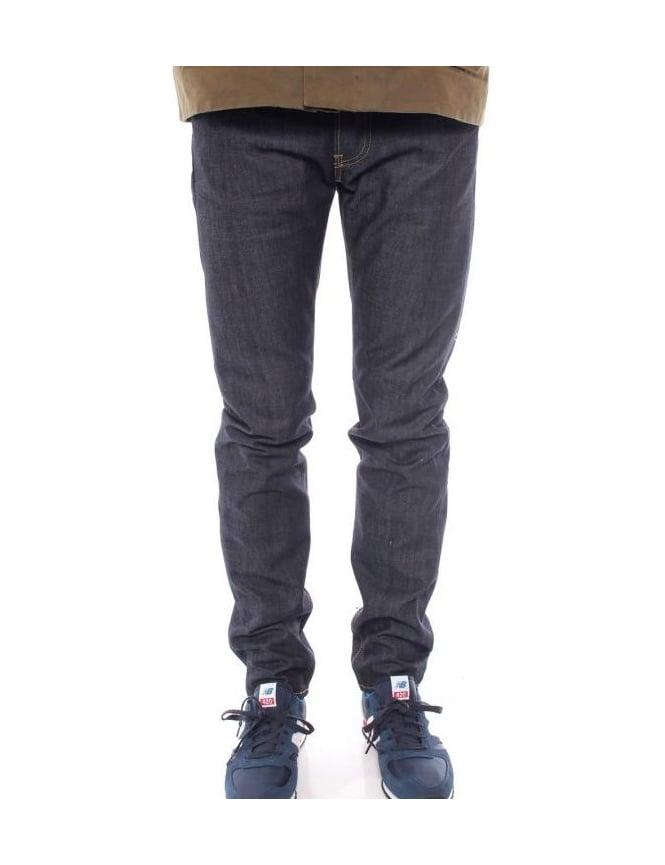 Edwin Jeans ED-80 Slim Taper Quartz Denim - Unwashed