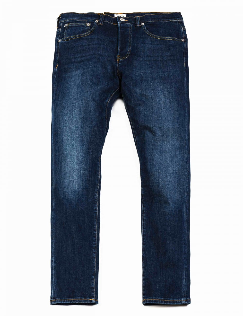 EDWIN ED 80 SLIM TAPERED FIT MENS JEANS CS RED LISTED SELVAGE DENIM BLAST WASH