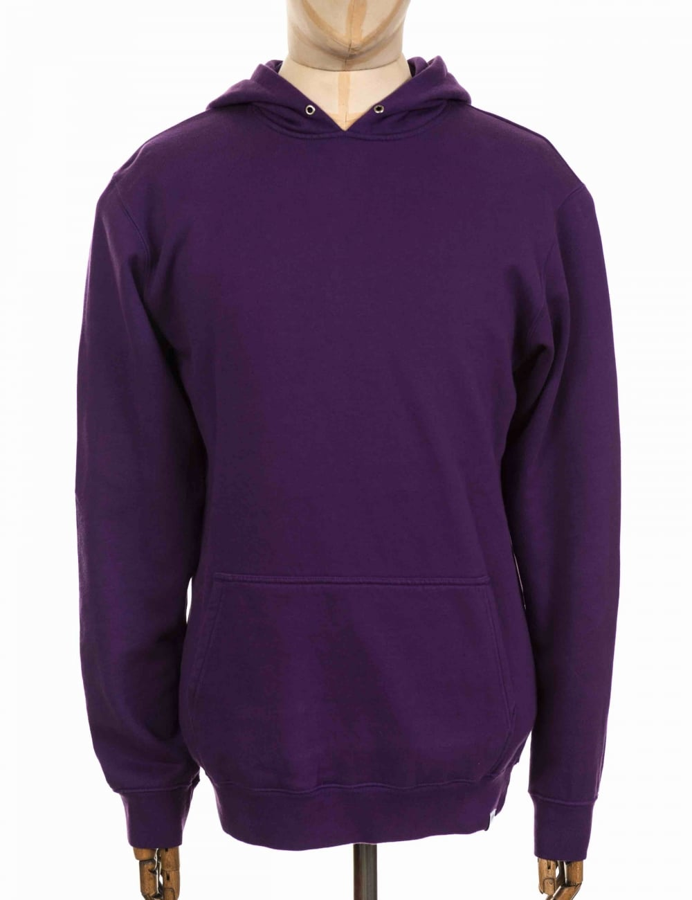 Edwin Jeans Felpa Hooded Sweatshirt - Purple - Clothing from Fat ... 1b0f8d3e3f2c