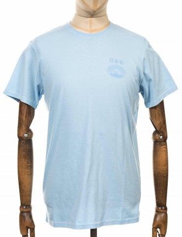 da47aec90d6 Edwin Jeans Fuji San Tee - Cool Blue
