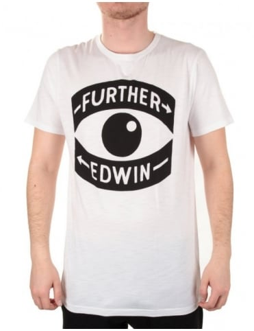 Edwin Jeans Further Borne Tee - White