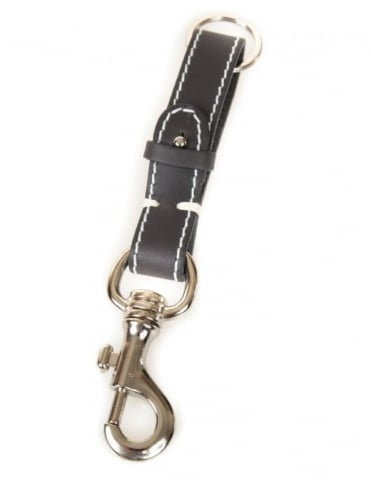Edwin Jeans Keyring Leather - Grey