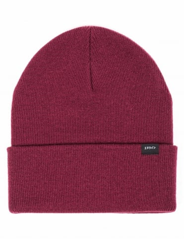 Kurt Beanie Hat - Bordeaux