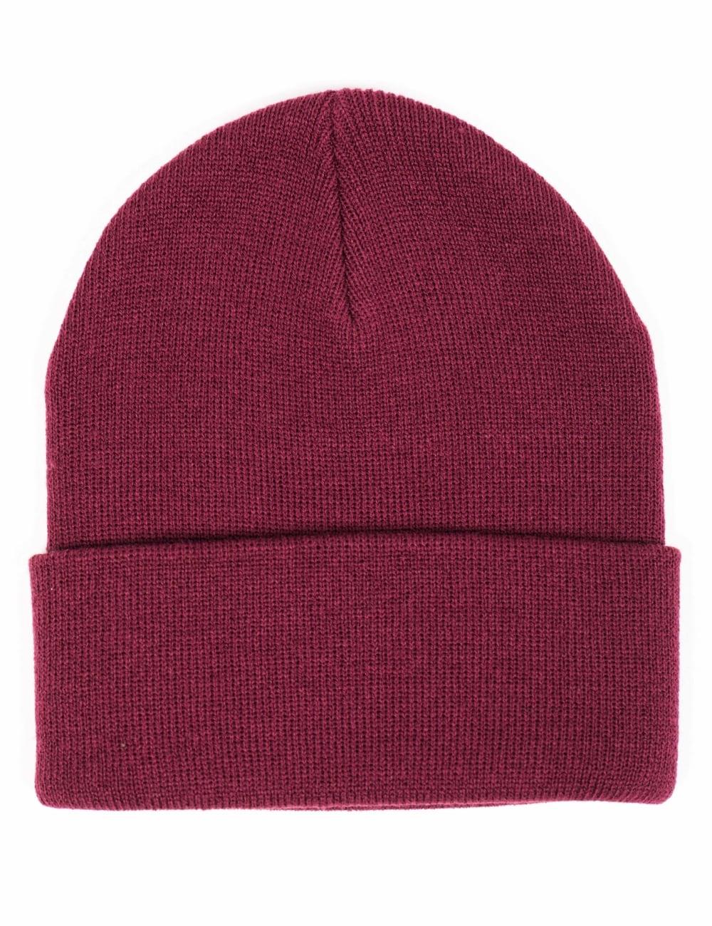 Bordeeaux Edwin Jeans Kurt Beanie Hat
