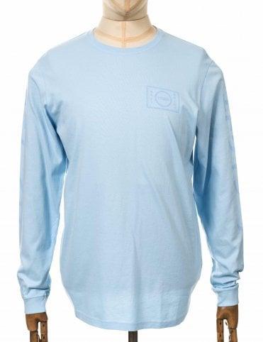 0933b460d10 Edwin Jeans L S Gang Tee - Cool Blue