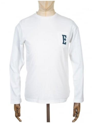 L/S Logo T-shirt - White