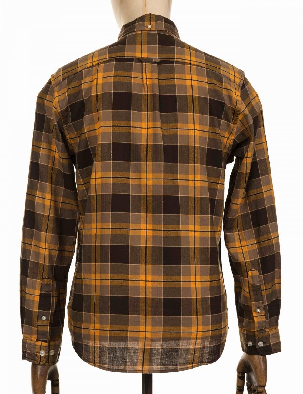 65aa728c669 Edwin Jeans Standard Shirt - Mustard - Clothing from Fat Buddha Store UK