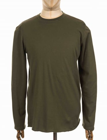 L/S Terry T-shirt - Olive Drab