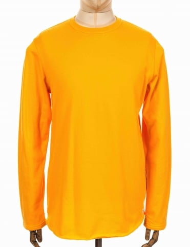 L/S Terry T-shirt - Yellow