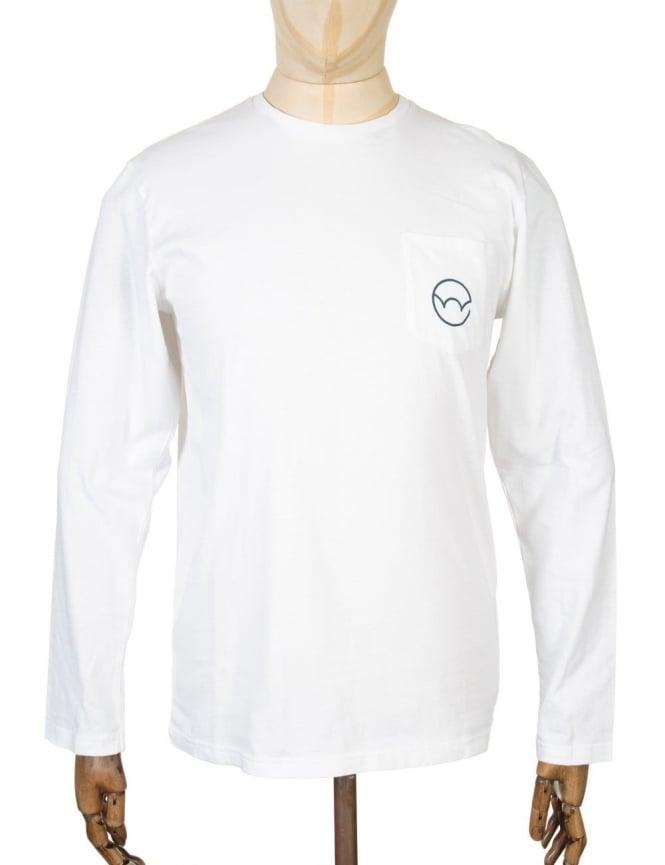 Edwin Jeans L/S Type 4 Pocket T-shirt - White
