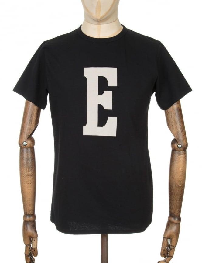 Edwin Jeans Logo T-shirt - Black