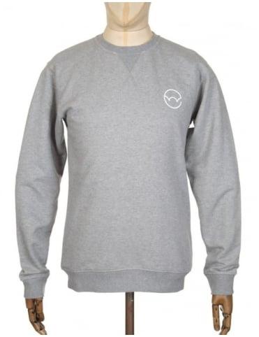 Edwin Jeans Logo Type 2 Sweatshirt - Heather Grey