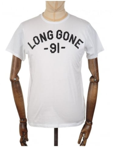 Edwin Jeans Long Gone T-shirt - White