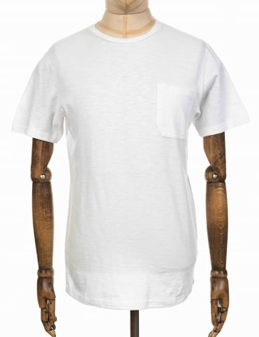 Marvin Slub Tee - White
