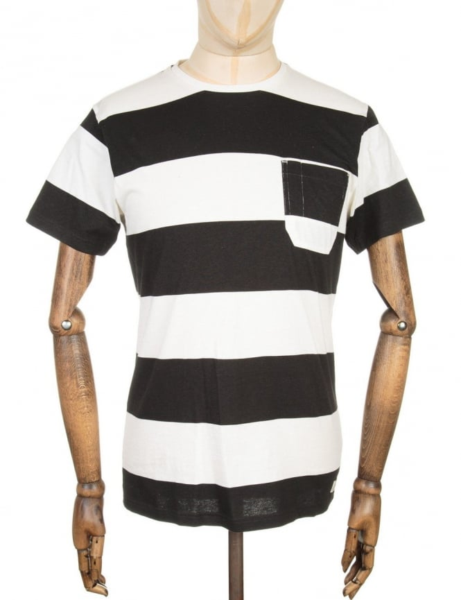 Edwin Jeans Marvin T-shirt - White/Black