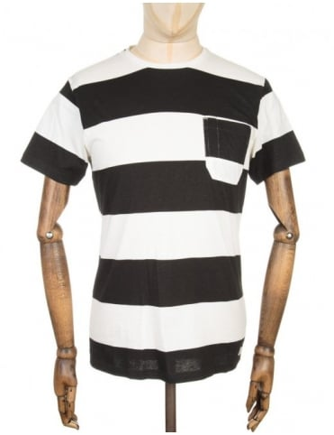 Marvin T-shirt - White/Black