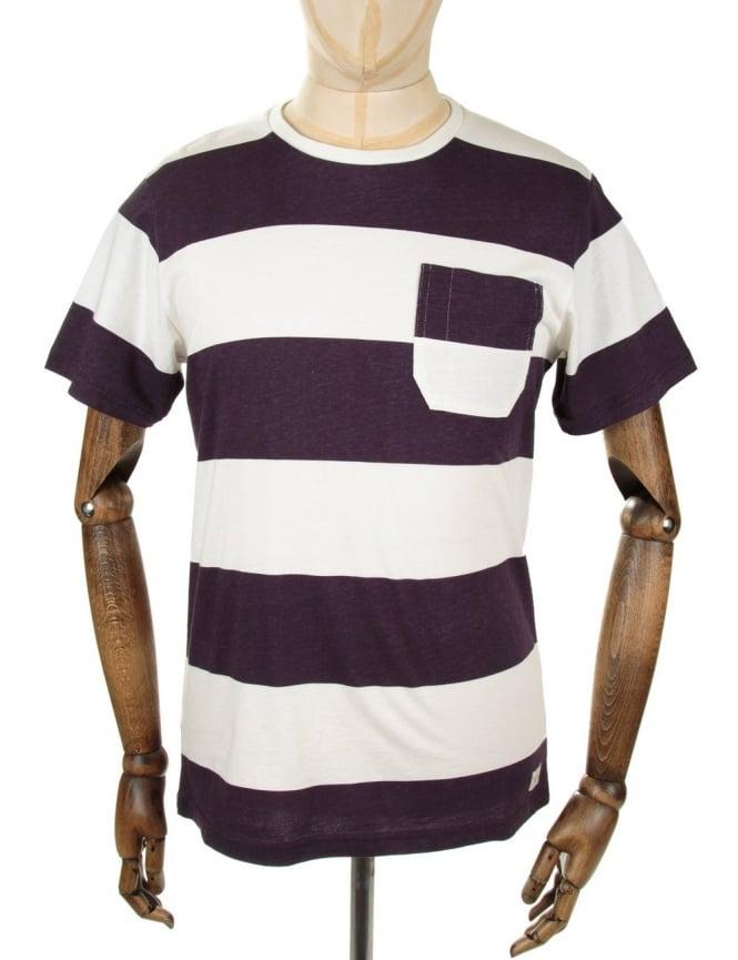 Edwin Jeans Marvin Tee - Pelt Stripes
