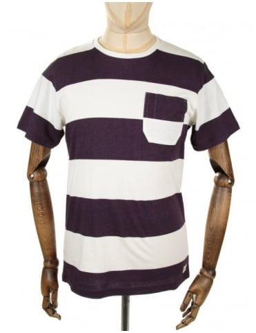 Edwin Jeans Marvin Tee - Pelt Stripes
