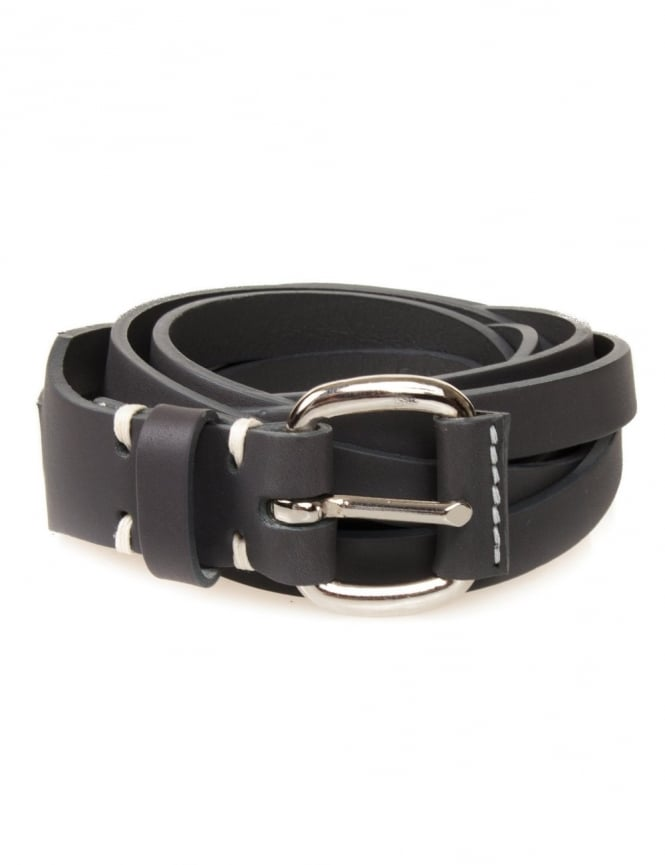 Edwin Jeans Meriweather Fine Belt Leather - Grey