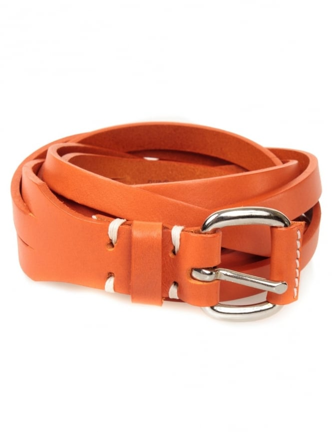 Edwin Jeans Meriweather Fine Belt Leather - Orange