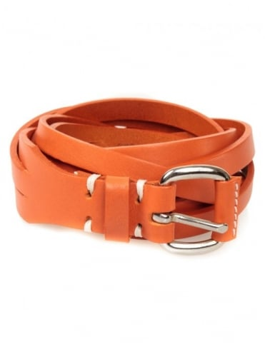 Edwin Jeans Meriweather Fine Belt Leather - Orange
