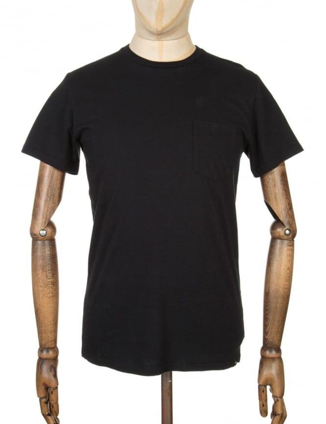 Edwin Jeans Pocket T-shirt - Black