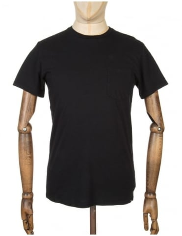Edwin Jeans Pocket T-shirt - Black