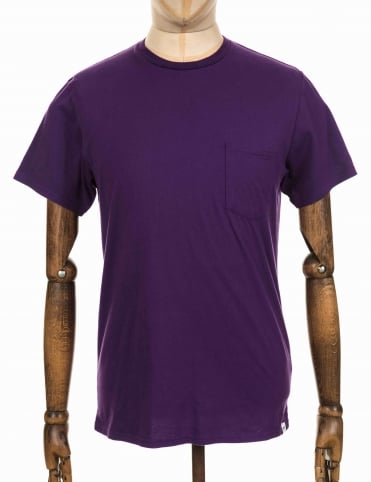 Pocket T-shirt - Purple