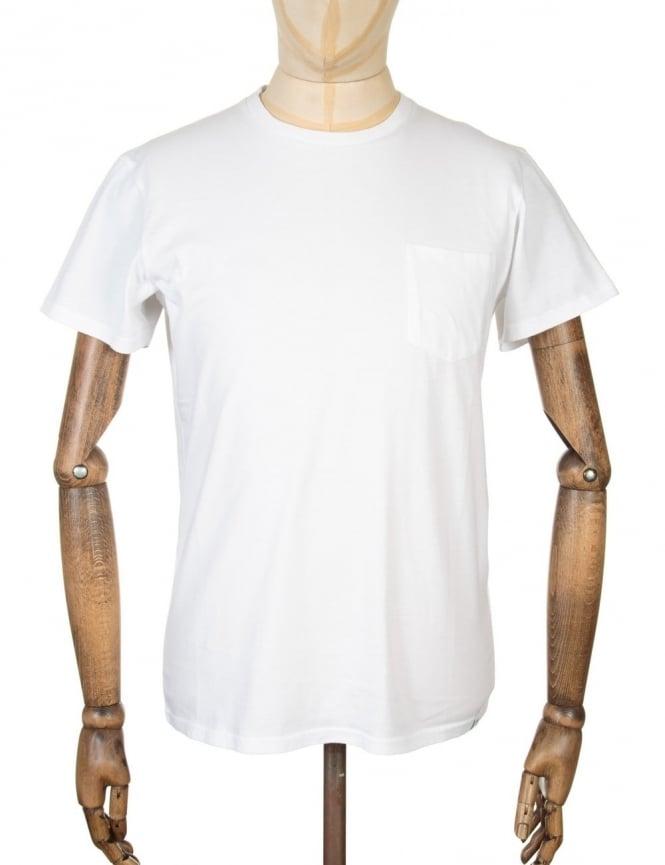 Edwin Jeans Pocket T-shirt - White