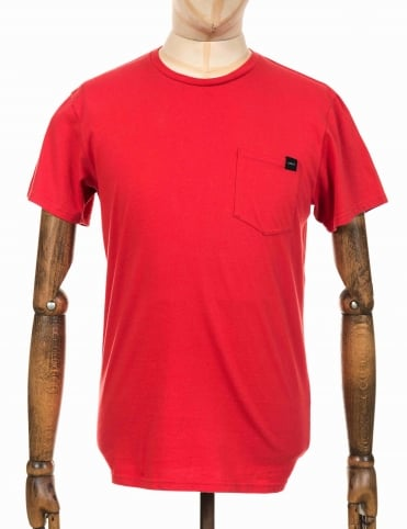 Pocket Tee - Washed Red