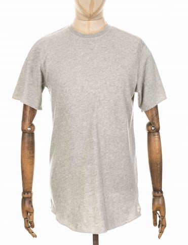 S/S Terry T - Grey Marl
