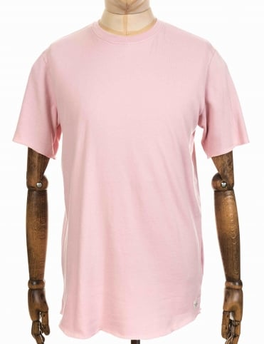 S/S Terry Tee - Pink