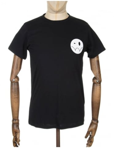 Edwin Jeans Smiley Logo T-shirt - Black