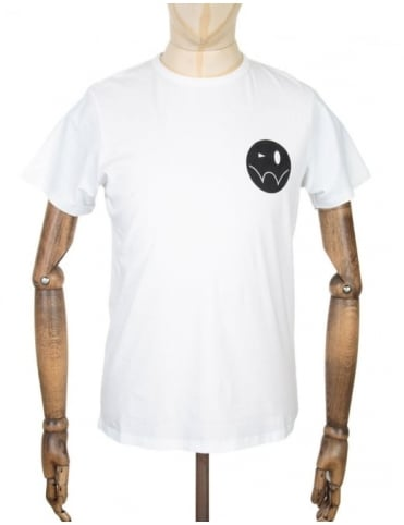 Edwin Jeans Smiley Logo T-shirt - White