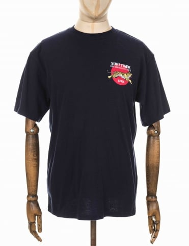 Edwin Jeans Surf Tiger Tee - Navy