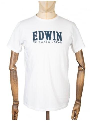 Edwin Jeans Type 2 Logo T-shirt - White