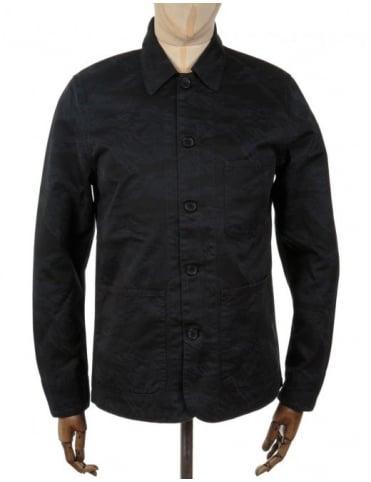 Edwin Jeans Union Jacket - Black Camo