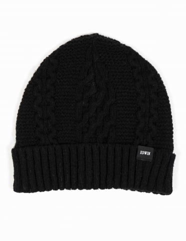 United Beanie Hat - Black