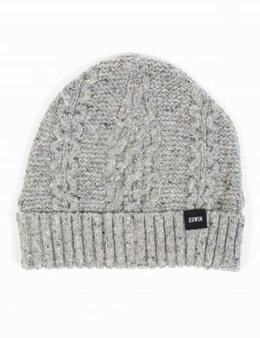 United Beanie Hat - Grey Marl