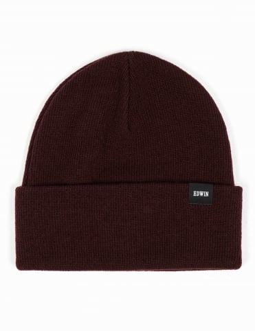 Watch Beanie Hat - Cordovan