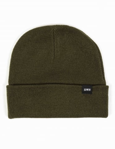 Watch Beanie Hat - Olive Drab