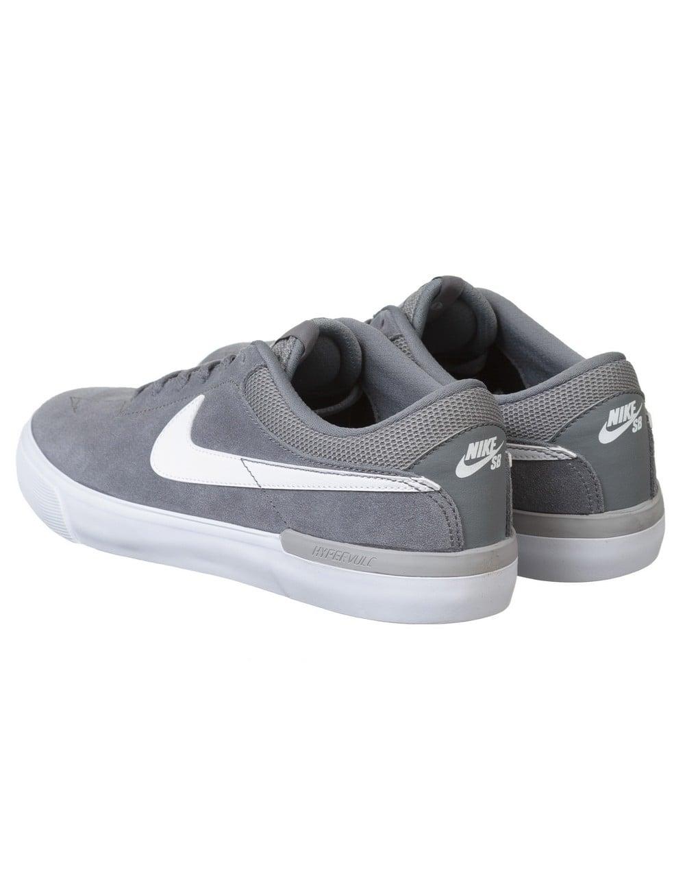 Nike SB Eric Koston Hypervulc Shoes - Cool Grey/White - Footwear ...