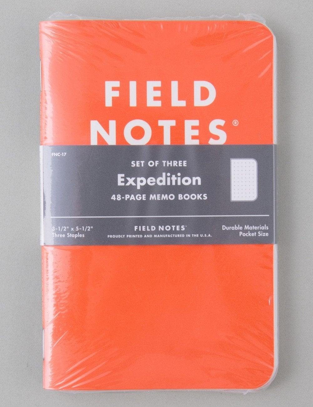 field notes expedition notebooks  3 pack