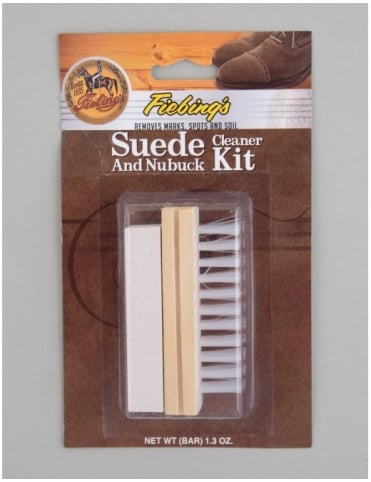Fiebings Suede and Nubuck Cleaner Kit