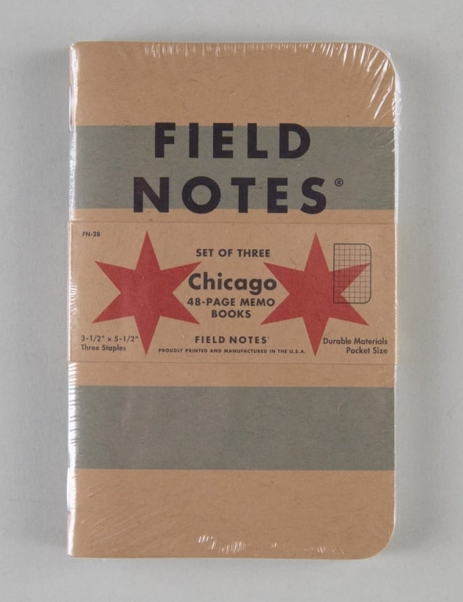 Field Notes Chicago Memo Books (3 Pack)