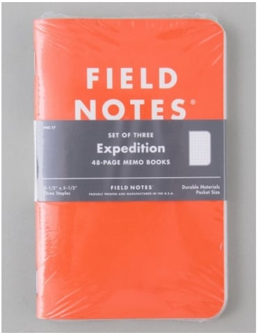 Expedition Memo Books (3 Pack)