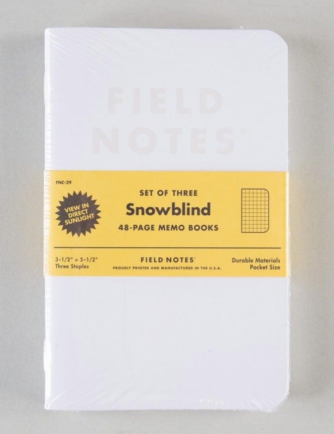 Field Notes Snowblind Memo Books (3 Pack)