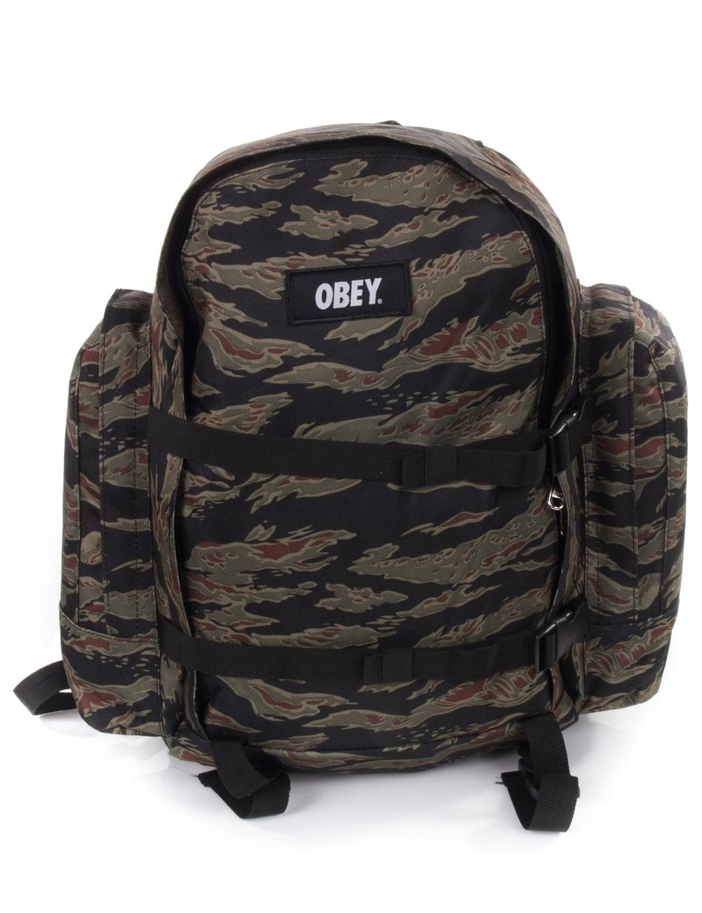 c5dec521fd03 Obey Clothing Field Pack - Tiger Camo - Accessories from Fat Buddha ...