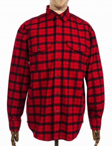 Alaskan Guide Shirt - Red/Black